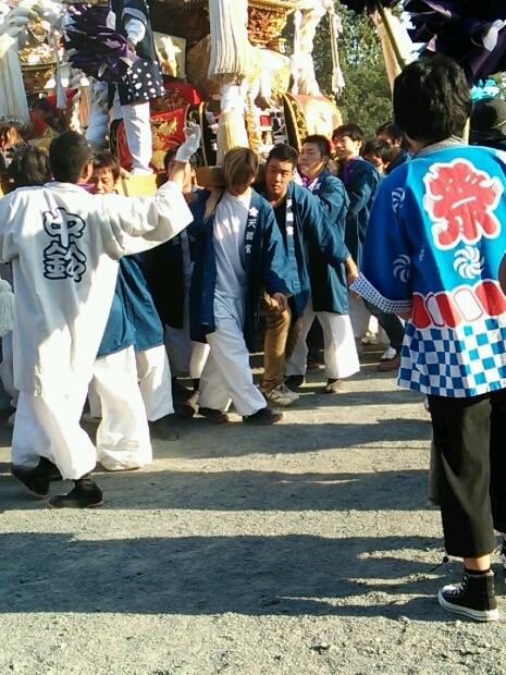 姫路中鈴のお祭りにて_e0326688_1013123.jpg