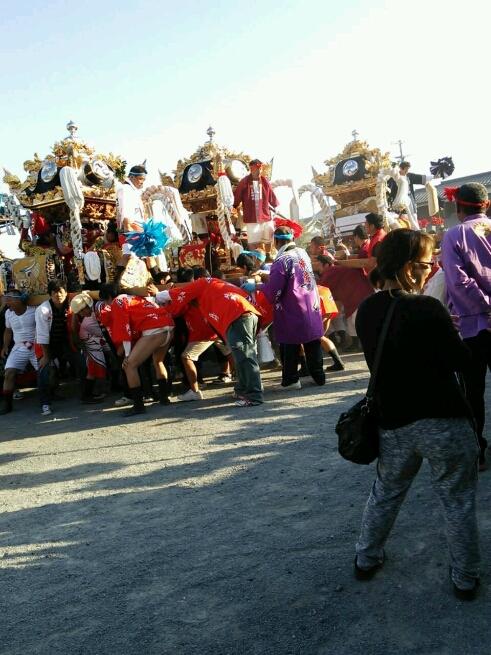 姫路中鈴のお祭りにて_e0326688_1025534.jpg