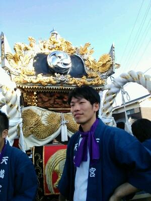 姫路中鈴のお祭りにて_e0326688_958264.jpg