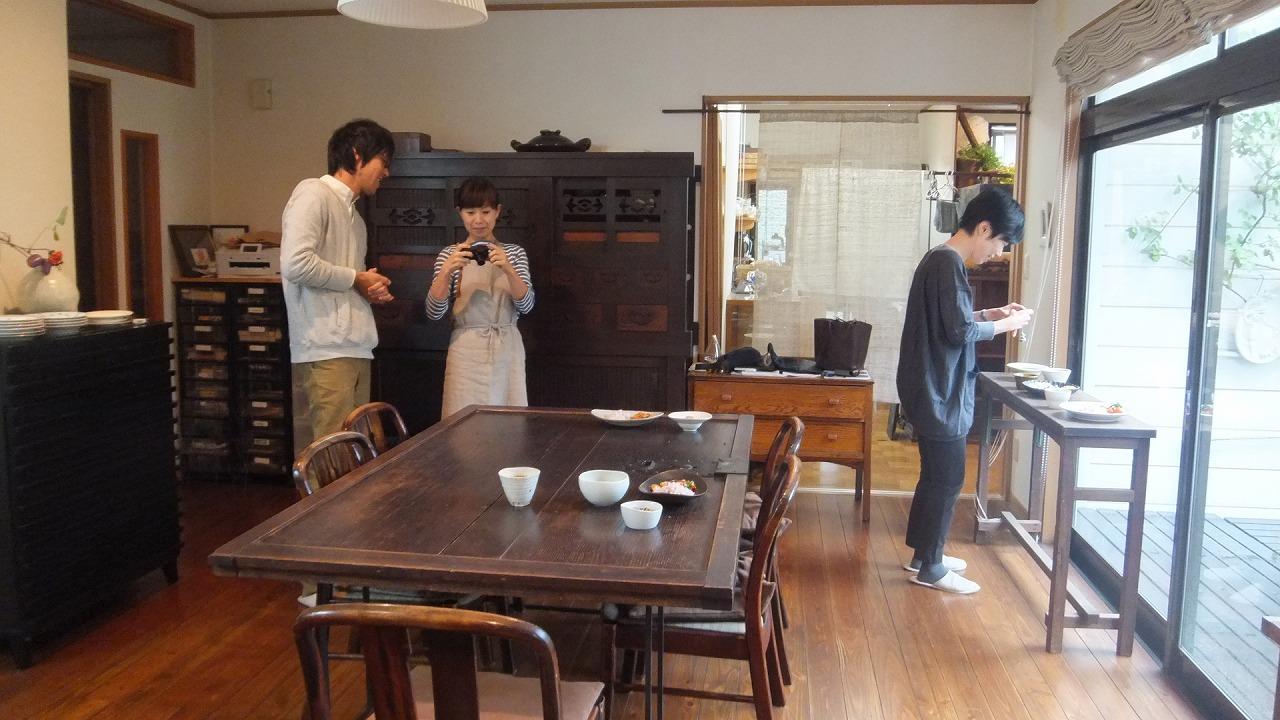 11月「Green thumb バック展」カレーカフェ打ち合わせ_e0187897_23185267.jpg