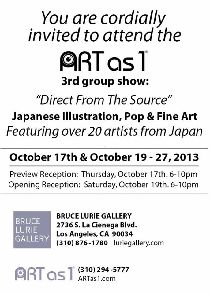 """Direct from the Source\""  Art Show featuring artists from Japan_f0172313_0223059.jpg"