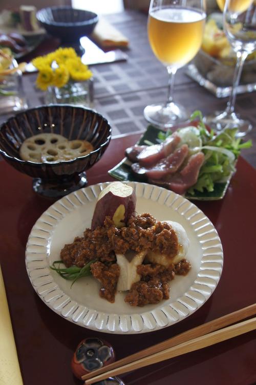 秋の和食! お料理教室_f0215714_1723559.jpg