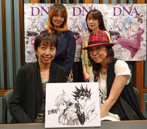 『D・N・A²』Blu-ray【BVC限定】&DVD発売記念の収録が完了!キャストコメント到着!_e0025035_12133746.jpg