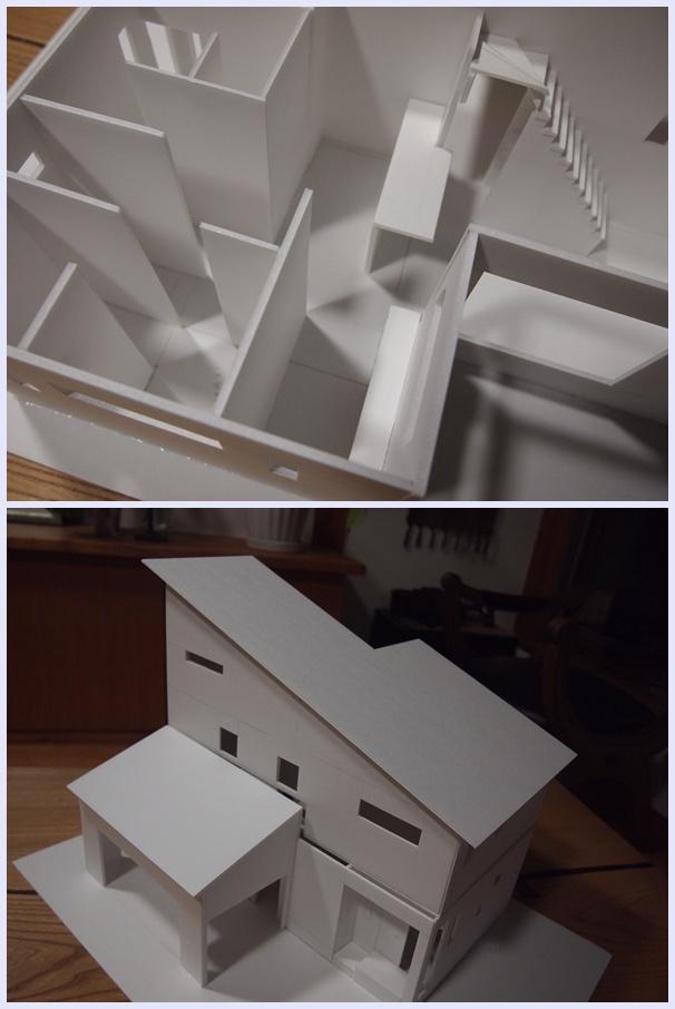 相模原市南区の家☆模型_c0152341_12354063.jpg