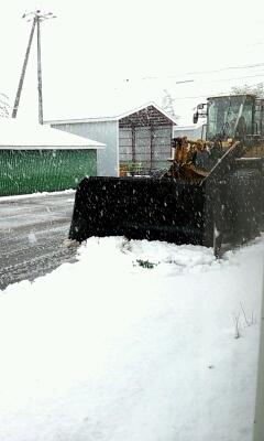 2013 初雪。_a0164408_1162079.jpg