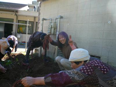 サツマイモ収穫祭(^O^)_a0154110_13274986.jpg