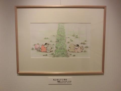 ちいさな駅美術館の展示_f0269910_183736.jpg
