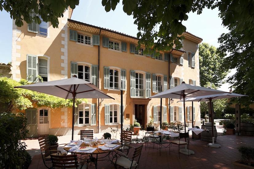 Hostellerie de L\'Abbaye de La Celle - オステルリー・ド・ラベイ・ド・ラ・セル_a0231632_21183925.jpg