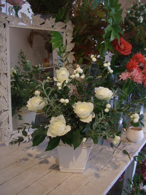 オークリーフ花の教室(北条さんと根本さんの作品)_f0049672_1725169.jpg
