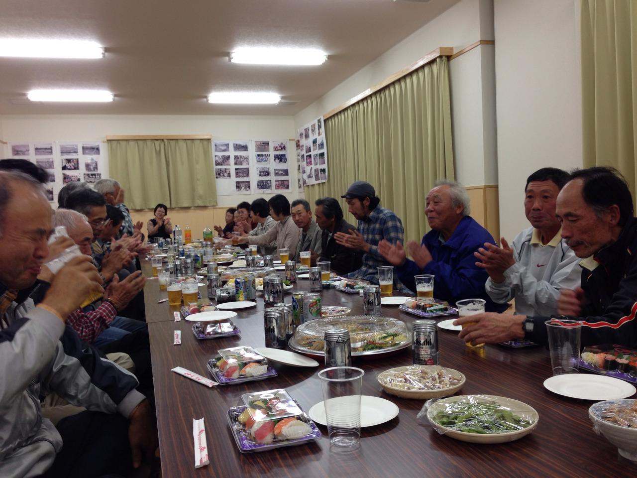 岩手~農家さんたちの懇親会に参加してきました。_b0206074_1311158.jpg