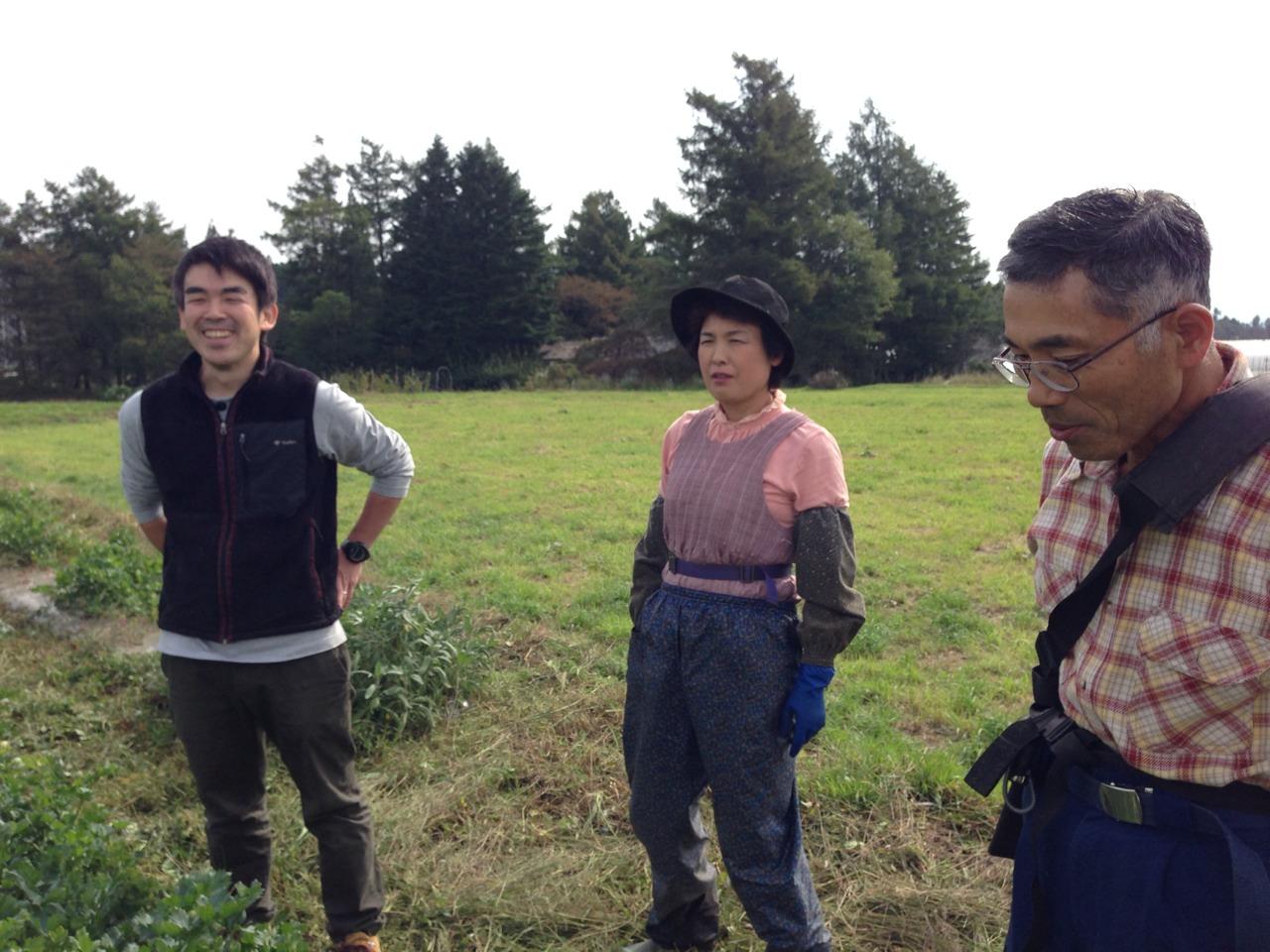 岩手~農家さんたちの懇親会に参加してきました。_b0206074_1395737.jpg