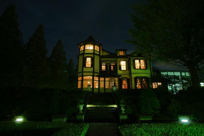 秋の宵の外交官の家_e0077521_22143139.jpg