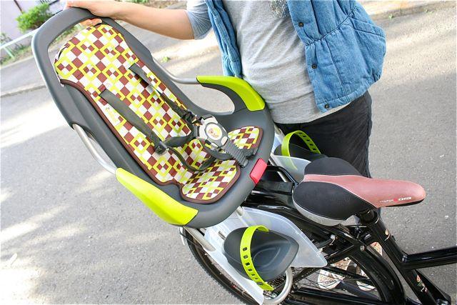 オランダ産『Qibbelキュベル』チャイルドシート おしゃれ ママ 自転車 ヨーロッパ_b0212032_2114281.jpg