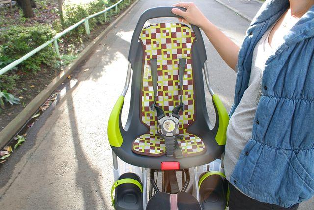 オランダ産『Qibbelキュベル』チャイルドシート おしゃれ ママ 自転車 ヨーロッパ_b0212032_2181199.jpg