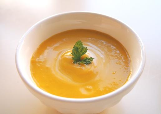 カボチャのクリームスープ_e0148373_10481556.jpg