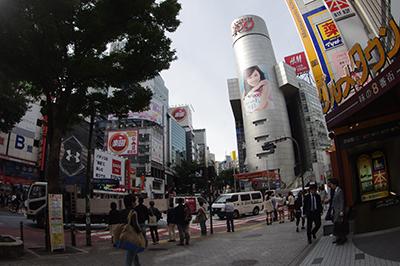 10月18日(金)の渋谷109前交差点_b0056983_11503750.jpg