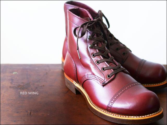"RED WING[レッドウィング] style No.8012 IRON RANGE / Munson [アイアンレンジ/マンソン] \""BURGUNDY\"" _f0051306_14215474.jpg"