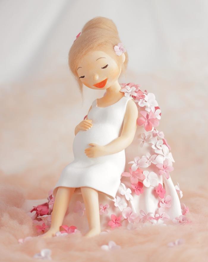 妊婦さん クレイドール_f0072976_9442744.jpg