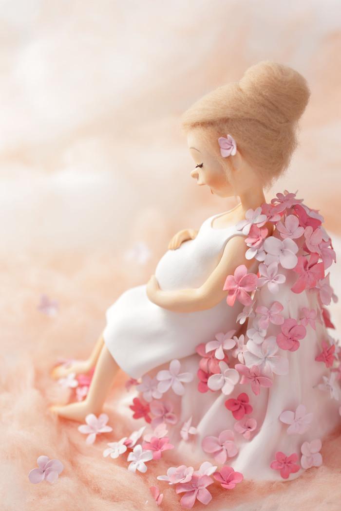 妊婦さん クレイドール_f0072976_9444997.jpg