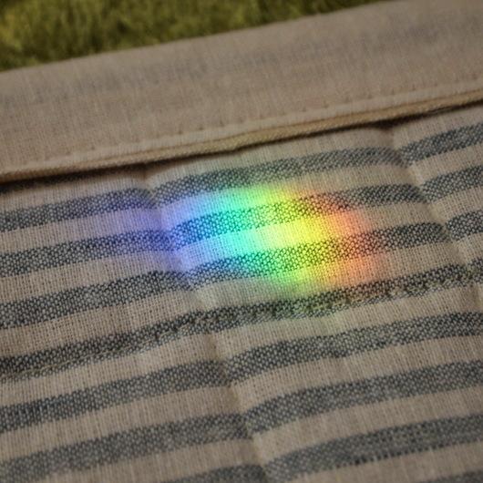サンキャッチャーの虹色の玉_a0292194_10531067.jpg