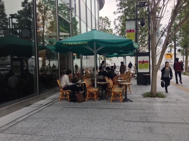 梅キタ。大阪美味マルシェ。食べすぎ。横わけ。_a0050302_2194326.jpg