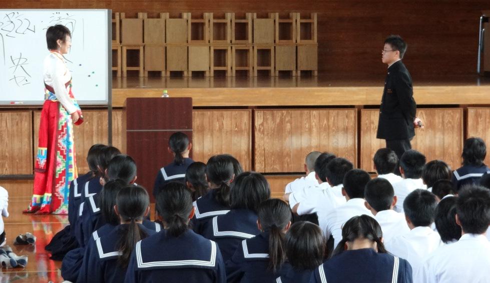 佐賀県鳥栖市の4つの中学校を訪問_c0162404_0441576.jpg