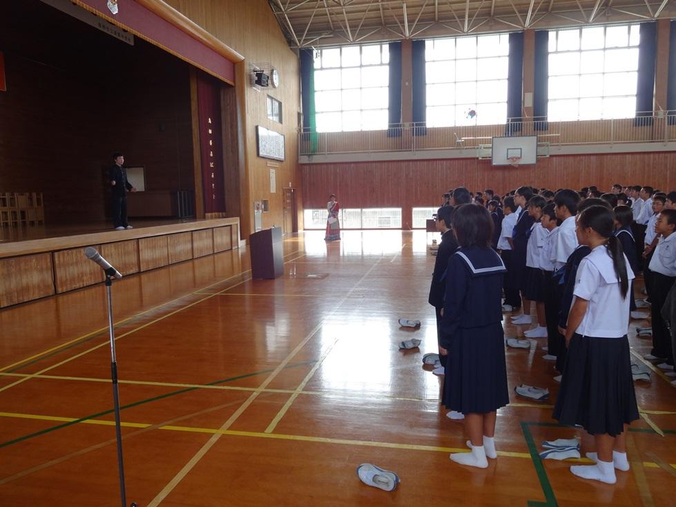 佐賀県鳥栖市の4つの中学校を訪問_c0162404_0472485.jpg