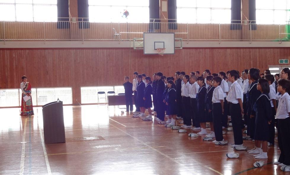 佐賀県鳥栖市の4つの中学校を訪問_c0162404_0482086.jpg