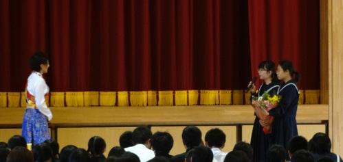 佐賀県鳥栖市の4つの中学校を訪問_c0162404_1163192.jpg