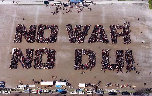 イラク戦争時に比べての大衆運動退潮が気になる_e0094315_9181270.jpg