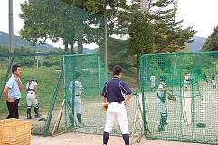 坂本佳一氏 野球教室_d0010630_15282150.jpg
