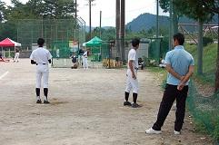 坂本佳一氏 野球教室_d0010630_15284670.jpg