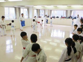 日曜 新川教室 親子空手 秋季昇級審査会_c0118332_16331330.jpg