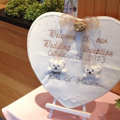 Weddingの実_e0120789_23121432.jpg