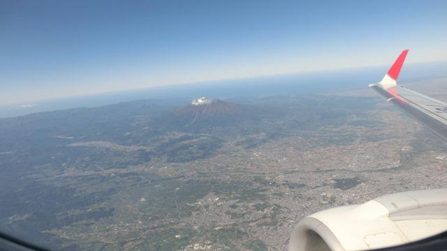 JALに感謝、鹿児島空港JAL職員草間様へ感謝、鹿児島空港フロントの草間様ありがとう青森は快晴です_d0181492_2211418.jpg