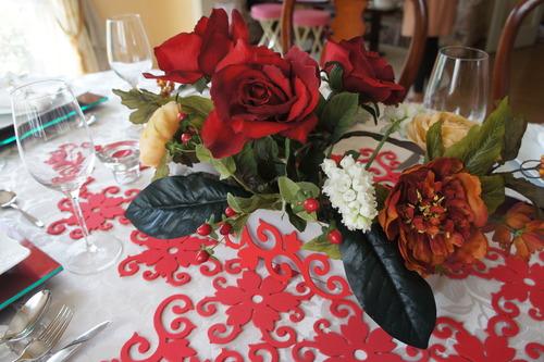 レース婚式のテーブルコーディネート_f0215714_17172742.jpg