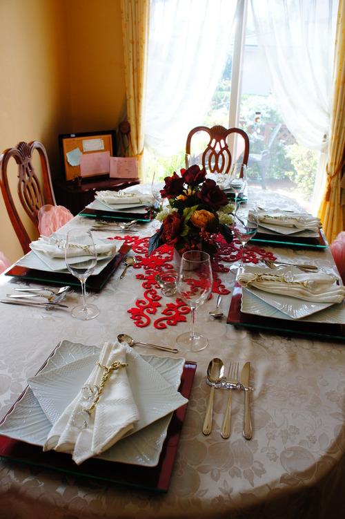 レース婚式のテーブルコーディネート_f0215714_1717451.jpg