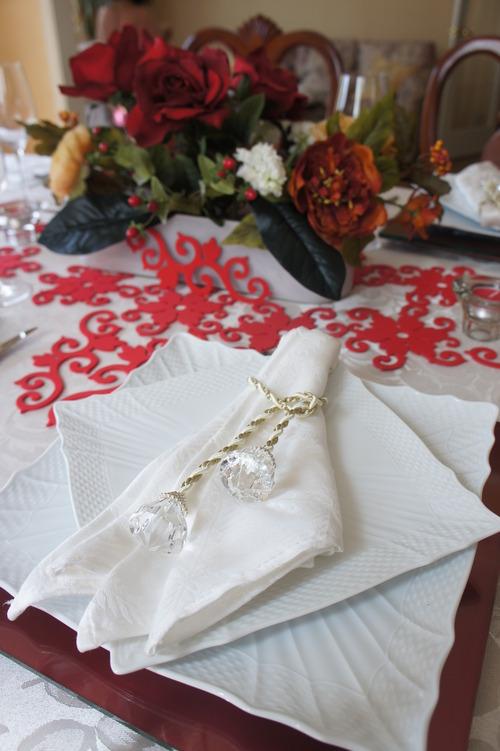 レース婚式のテーブルコーディネート_f0215714_1718155.jpg