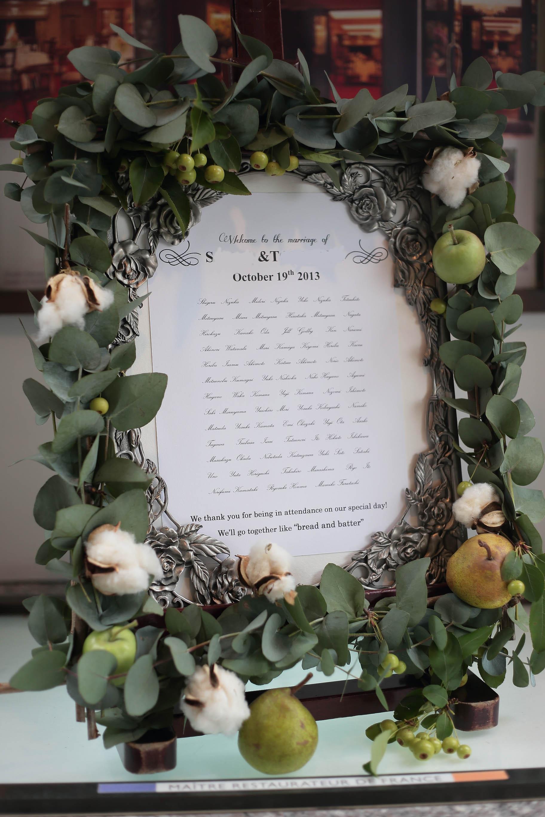 秋の装花 絵本と収穫祭 代官山PACHON様へ_a0042928_21551798.jpg