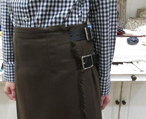 オニールオブダブリン キルトスカート 80cm丈です。_c0227633_2152263.jpg