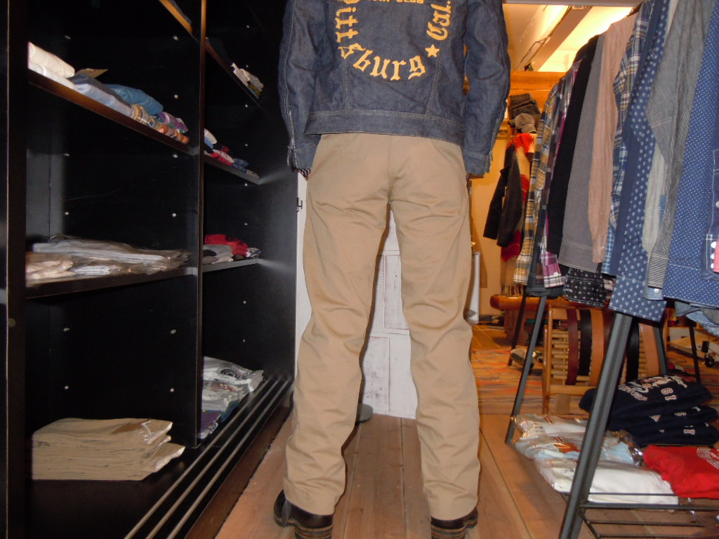 WALK ON    CHINOS PANTS_b0278148_12463578.jpg