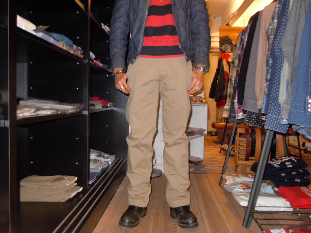 WALK ON    CHINOS PANTS_b0278148_12464781.jpg