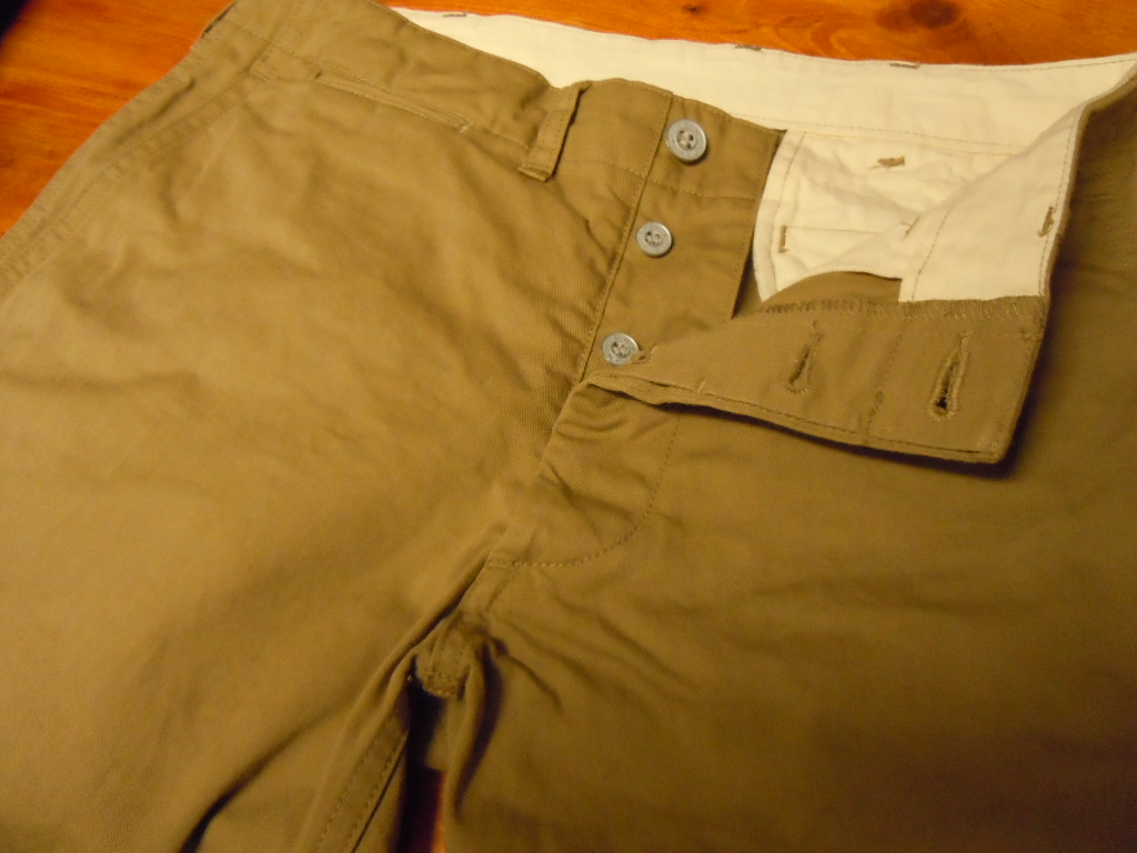WALK ON    CHINOS PANTS_b0278148_12494149.jpg