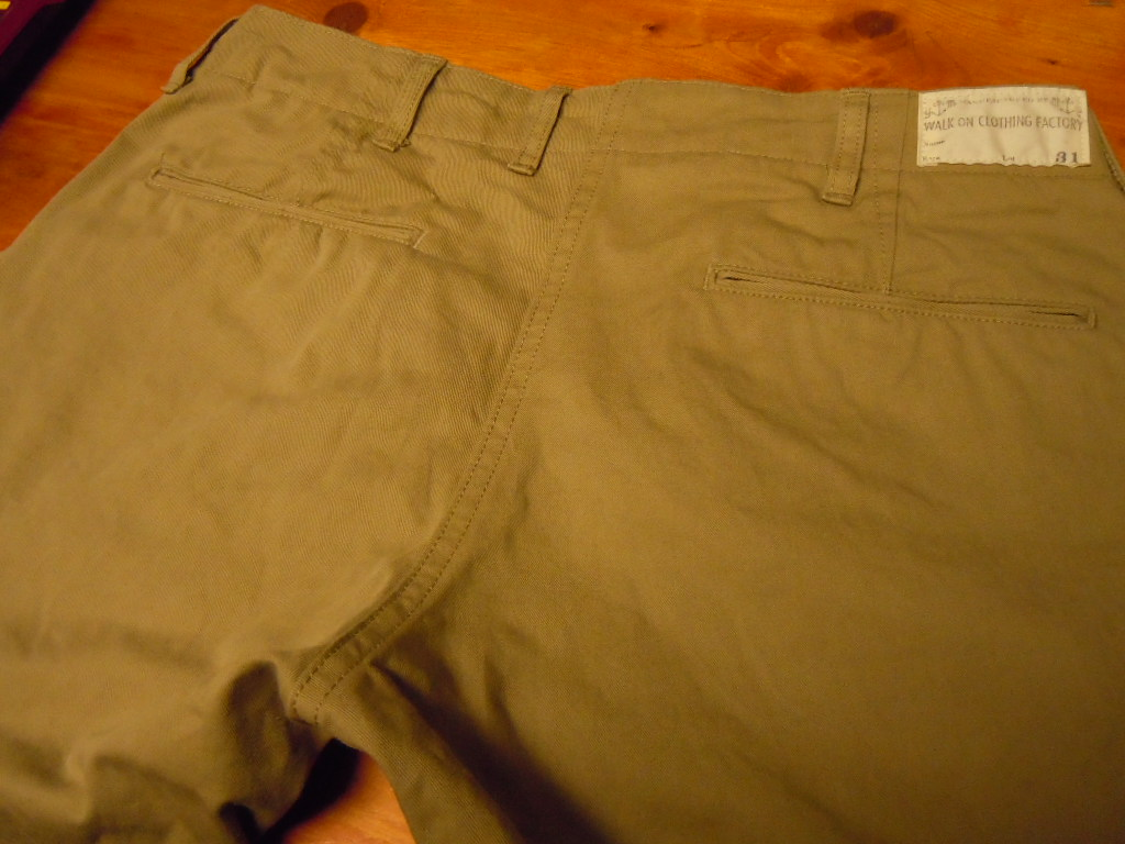 WALK ON    CHINOS PANTS_b0278148_12495677.jpg