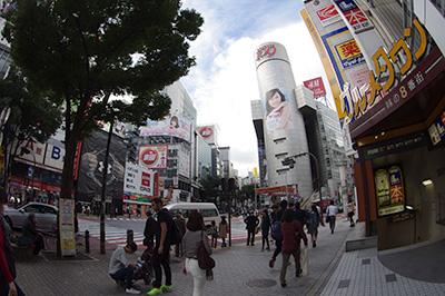 10月21日(月)の渋谷109前交差点_b0056983_12273511.jpg