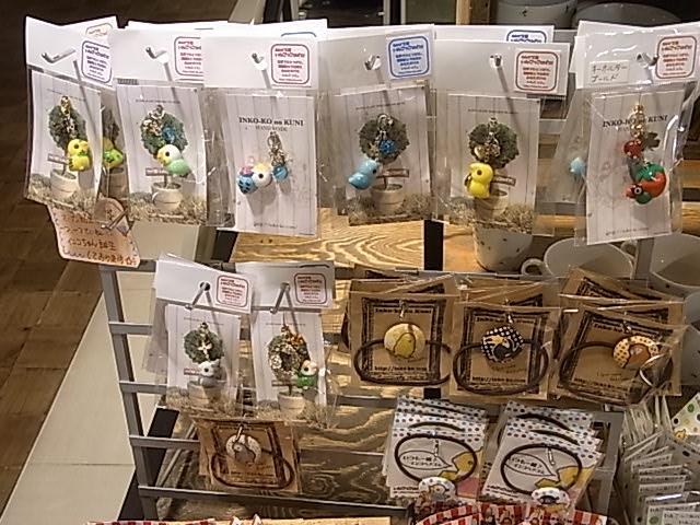 インコと鳥の雑貨展、展示の様子と作品の紹介_d0322493_063144.jpg