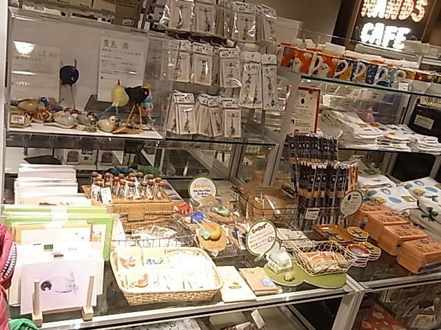 インコと鳥の雑貨展、展示の様子と作品の紹介_d0322493_075570.jpg