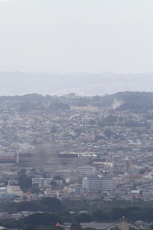 渋川の街に発車の煙が舞う - 2013年秋・上越線 -  _b0190710_2316911.jpg
