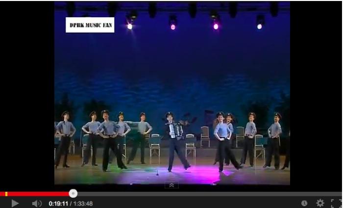 北朝鮮vs南トンスルランド:やはり北朝鮮「ワン・ジェサン芸術団」の方が上ですナ!_e0171614_1793851.jpg