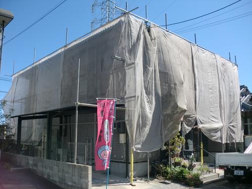 廿日市市 M様邸・外壁塗装工事_d0125228_855515.jpg